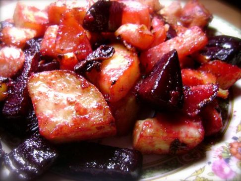 Roasted Root Veggies (no potatoes)
