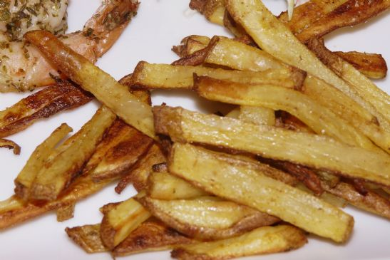Oven Curry Fries