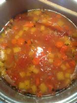 Deborah's chicken vegetable soup