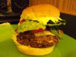 Blue Moose Cafe Black Bean Burgers
