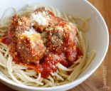Skinny Italian Spinach Meatballs