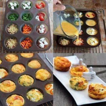 egg muffins to go from deserve better fitness. Black Bedroom Furniture Sets. Home Design Ideas