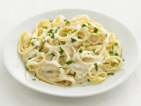 Fettuccine Alfredo, Healthy Version
