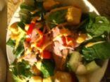 raw veggies mostly