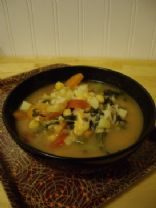 Minestrone with Arborio Rice