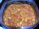 Tomato Garbanzo Curry Sauce