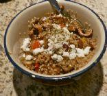 Quinoa w. Tempeh & Grilled Veggies