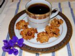 Mini Pumpkin Almond Craisin Coconut Oatmeal Cookies