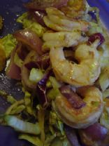 Spicy Orange Shrimp Stir Fry