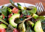 Winter Citrus Salad with Creamy Avocado Vinaigrette