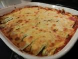 Zucchini Chicken Ricotta Lasagna