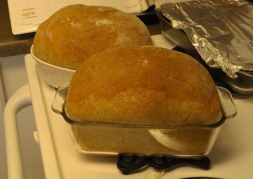 Erica's Homemade Wheat Sandwich Bread