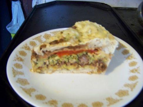 agassifan veggie beef pie