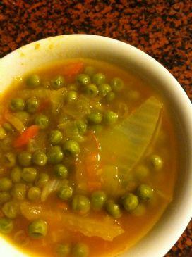 Chunky Pea Soup