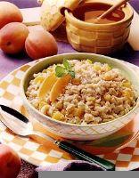 Apricot Honey Oatmeal
