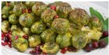 Brussels Sprouts Roasted on the Stalk, Trader Joes