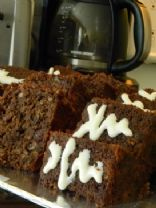 Double - Cranberry Carrot Cake