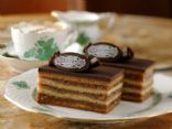 Gerbaud cake (Zserb� s�ti, Hungary) (1serving=5x2cm=35g)