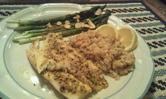 Lemon Pepper Flounder