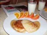 Oatmeal Pancakes (2 per serving)