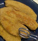 Kid's Healthier Fried Fish