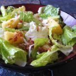Hawaiian Chicken and Bacon Salad