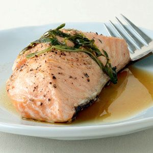 Grilled Garlic Salmon