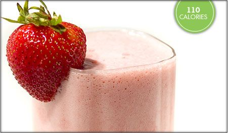Fresh Strawberry Banana Sunrise Smoothie
