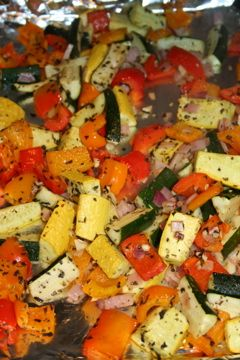 Oven Baked Veggies