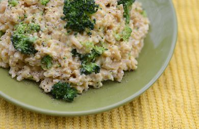 Super Cheesy Rice and Broccoli