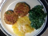 Canned pink Salmon Patties