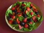 Spinach and Mixed Berry Salad