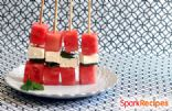 Watermelon-Feta Kabobs