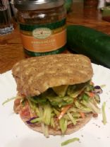 Mango Island Chicken Sandwich #FITFOOD