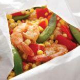 Five-Spice Shrimp & Vegetable Packets
