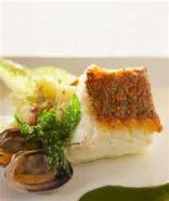 Cod With Caesar Crust