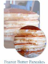 Best EVER Peanut Butter Pancakes