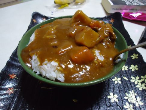 Chicken Curry Japanese