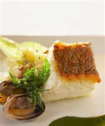 Cod With Caesar Crust