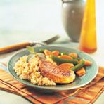 Image of Pork & Rice Skillet, Quick Glazed, Spark Recipes