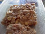 Soo moist apple cake/bars/bread lol