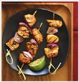 Chili Chicken Kabobs from Clean Eating Diet