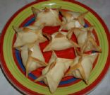35 Calorie Baked Cream Cheese Wontons