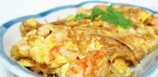 Chinese Prawn Omelet