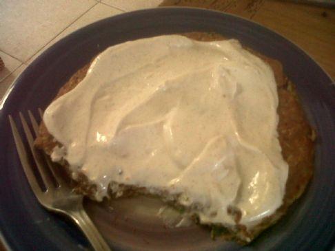 Zucchini Flax Pancake