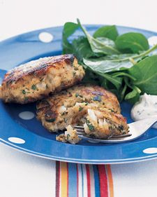 Lemon-Parsley Fish Cakes
