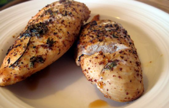Mustard Glazed Chicken