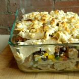 Low-Fat Enchilada Bake
