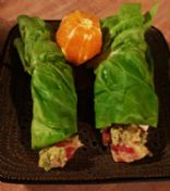 Clean Chicken salad wraps