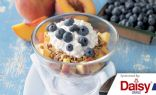 Peach Blueberry Parfaits from Daisy Brand
